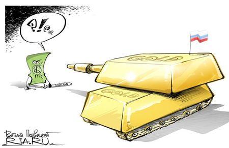 Россия и Турция решили вкладывать в золото