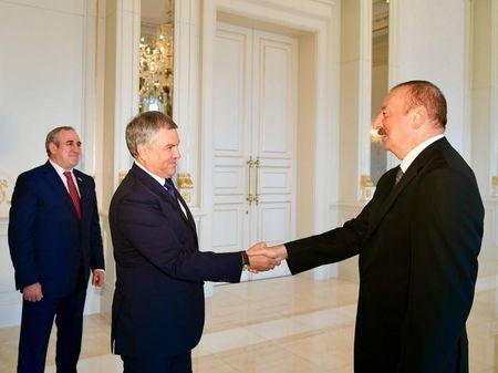 Азербайджан стратегический партнер России