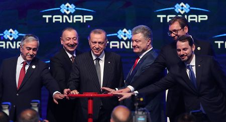 В Турции торжественно запустили TANAP