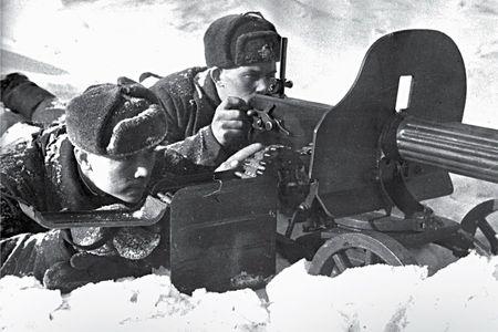 Джумат Бекмамбетов был пулеметчиком