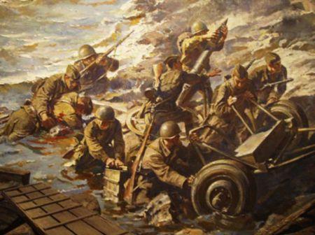 Абдурахман Узеиров обеспечивал связь в боях за Днепр