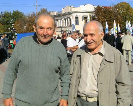 Ибраим Куртосманов и Энвер Аметов