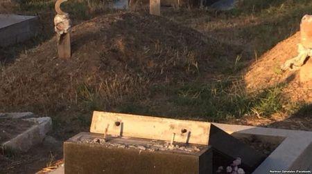 В Багерово осквернили мусульманское кладбище