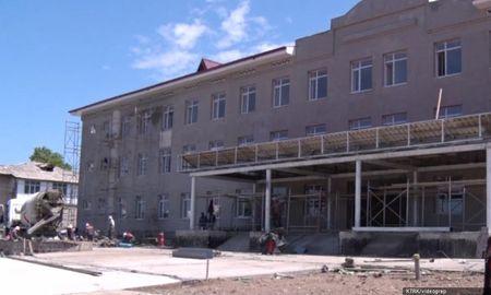 Узбекистан строит школу в Оше