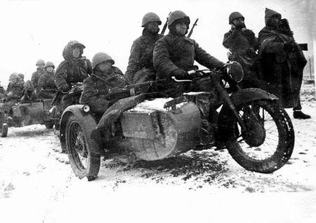 Халит Нуралиев командовал мотоциклетной ротой