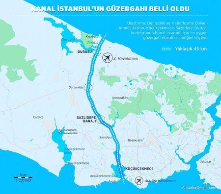 Эрдоган строит второй Босфор