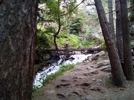 На мосту через речку Шумка