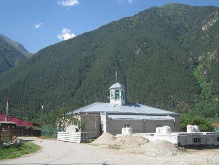 Мечеть в ауле Хурзук