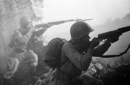 Абдурашит Таймазов уничтожил гранатами четырех немецких солдат