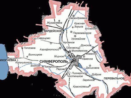 Симферополь прирастят районом?