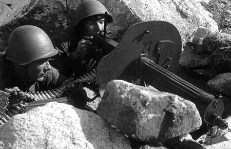 Зиядин Мамбетов был убит в бою на Карельском фронте