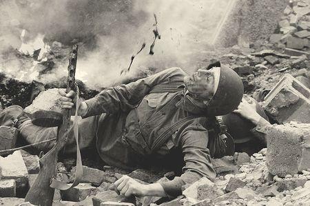 Саит Ягы вынес с поля боя 19 раненых бойцов