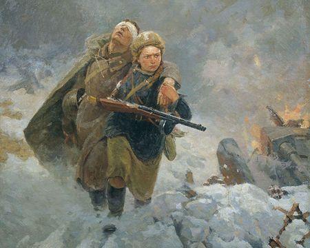 Сеит-Неби Ягьяев был ранен под Ленинградом