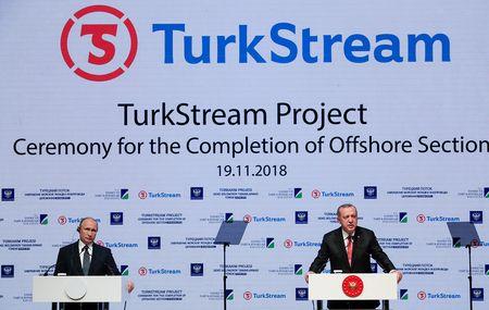 Морской участок «Турецкого потока» уложен полностью