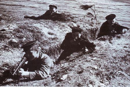 Али Хамата бил немцев на границе с Норвегией