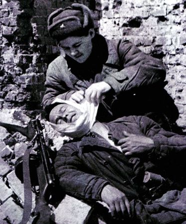 Марыф Закиров был тяжело ранен под Сталинградом