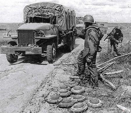 Юрий Аблаев подвозил минеров на особо важные участки
