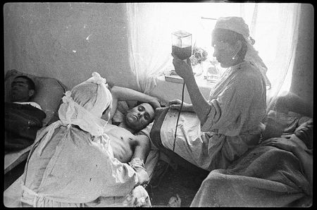 Фатьма Аблямитова лечила раненых в госпитале