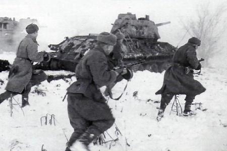 Мамед Аметов был ранен на Волховском фронте