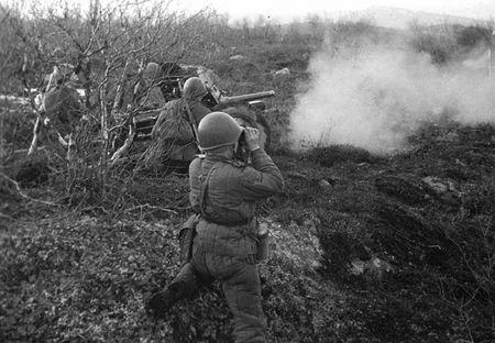 Мамбет Мингазиев командовал взводом 45-мм пушек