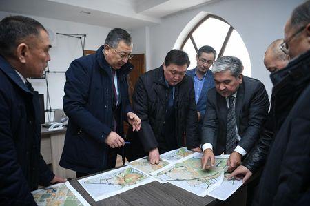 Начато строительство нового Туркестана