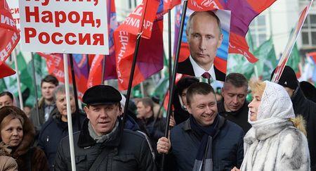 Путин хочет распустить русский народ?..