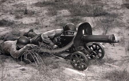 Энан Сеитов доставил пулеметы на огневые позиции