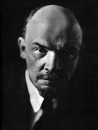 О Ленине почти не говорят