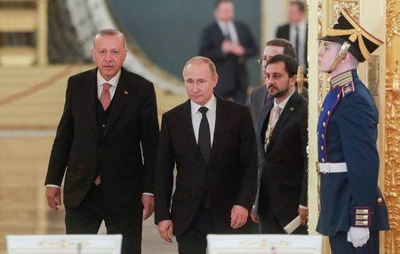 О чем говорили Путин и Эрдоган в Москве