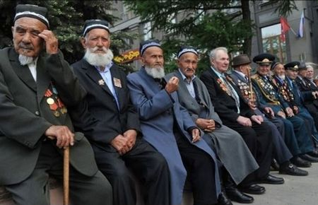 В Узбекистане чтят ветеранов войны