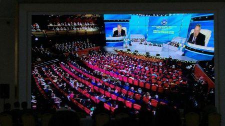 Ассамблея народа Казахстана в поисках мира и согласия