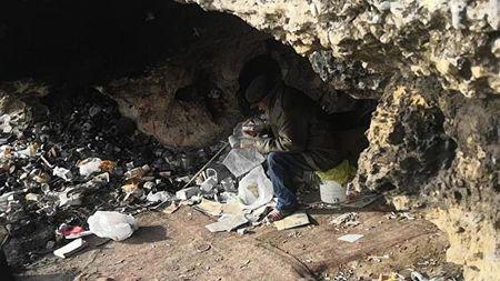 В Севастополе до сих пор живут пещерные люди