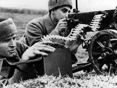Мамут Исмаилов был пулеметчиком