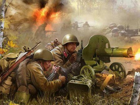 Ягья Шабанов командовал пулеметной ротой