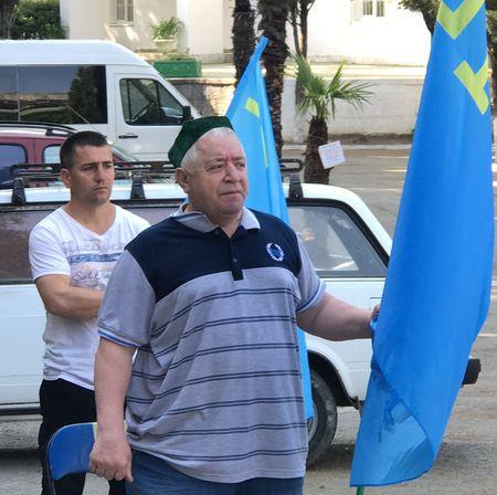 В Кореизе почтили память жертв преступного выселения крымскотатарского народа