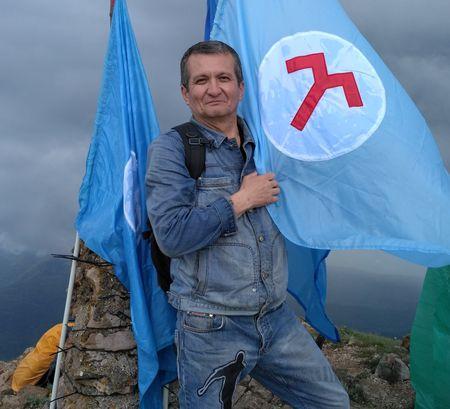 Альмир Самадинов на Эклизи-Бурун