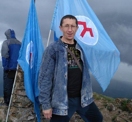 Ринат Шаймарданов на Эклизи-Бурун