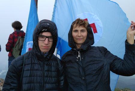 Диляра и Исмет Касаевы на Эклизи-Бурун