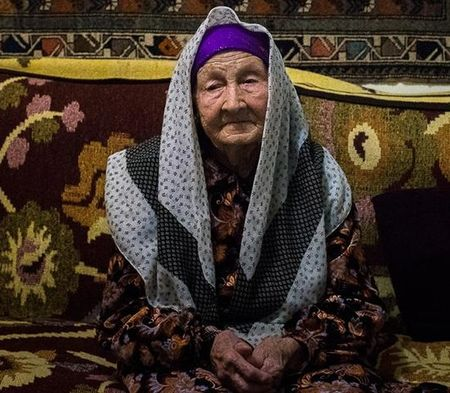 Сидика Мефоева, 93 года