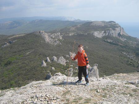 Асан-акай в родных крымских горах