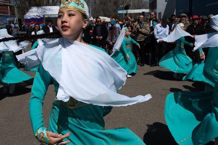 Где в Астраханской области живут ногайцы