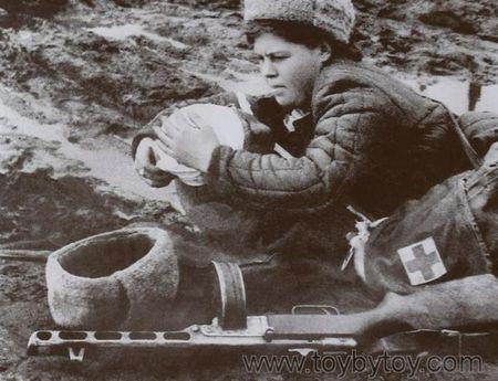 Фатьма Додоева спасала раненых