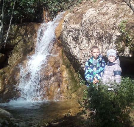 Еще один красивый водопад
