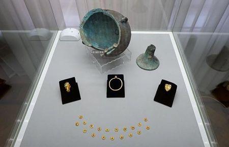 В Астрахани нашли золото сарматов