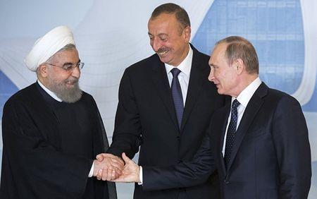 О чем будут договариваться Путин, Алиев и Роухани в Сочи