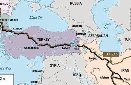 Турцию и Иран связала еще одна железная дорога