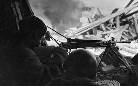 Джемир Абкадыров погиб в бою в ноябре 1943