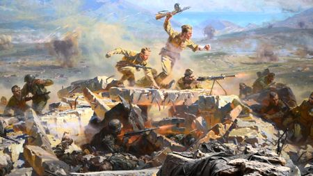 Мемет Белялов отличился в боях за Херсонес