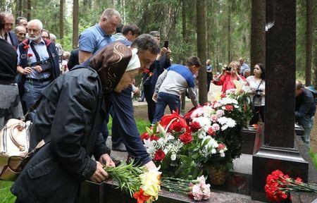 В Левашово открыли памятник «Татарам – жертвам репрессий»