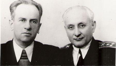 Мустафа Селимов (слева) и Ибраим Рамазанов, 1969 г.